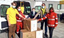 5,5 milioni di kg di cibo donati durante la pandemia.