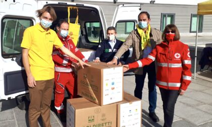 La Pasqua di Coldiretti: 2000 chili di cibo alle famiglie in difficoltà