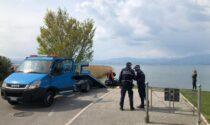 La storia della Ferrari che per distrazione è finita nel Lago di Garda