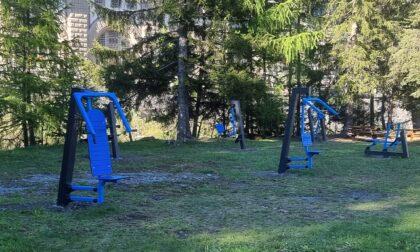 Nuovi giochi in tutti i parchi delle frazioni della Valdidentro
