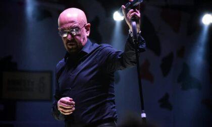 A Sondrio il concerto di Enrico Ruggeri