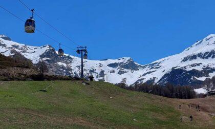 Guasto alla seggiovia, lo sci estivo in Valchiavenna non parte