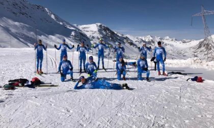 I fondisti delle Alpi Centrali scendono in pista