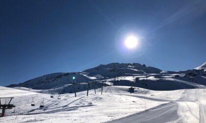 Lo sci estivo anche in Valchiavenna