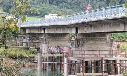 Monta la rabbia per i lavori al ponte di Traona