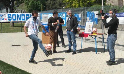 La rinascita del Sondrio Calcio, alla Castellina arriva pure la Rai