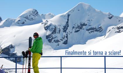 Si torna a sciare sullo Stelvio