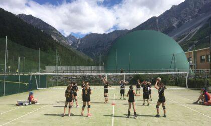 L'US Bormiese al Volley S3 al Parco