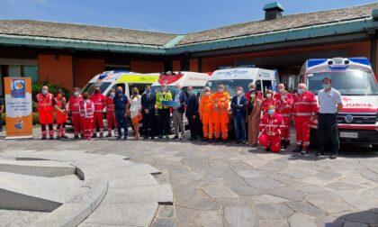 Dispositivi di sanificazione per le ambulanze lombarde donati da Cancro Primo Aiuto