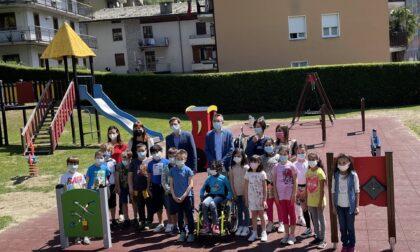 Inaugurato il parco giochi inclusivi di via Lusardi