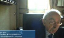 Ciclo di incontri sulla Costituzione: secondo appuntamento con Giuliano Amato