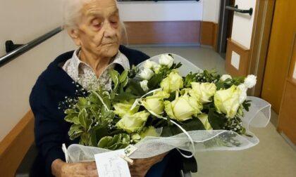 I primi 100 anni della nonnina Maria Valmadre
