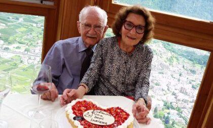70 anni di matrimonio grazie alla vita serena donata dalla Valtellina