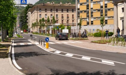 Traffico e sicurezza, promosso l'intervento davanti all'ospedale