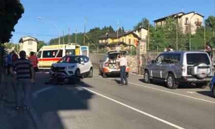 Incidente sulla Panoramica a Montagna in Valtellina: due feriti