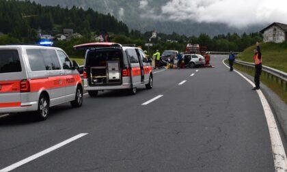 Incidente stradale in Svizzera, muore frontaliere