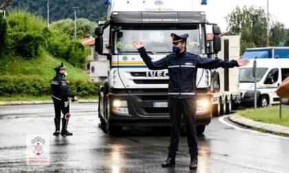 Maltempo sul Lago di Como: la situazione strade