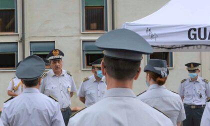Guardia di Finanza, il Generale Carrarini in visita in Valtellina