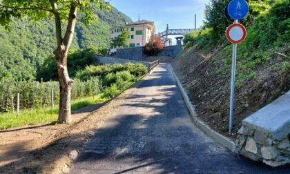 Aperto nuovo tratto di pista ciclabile in località Pradella