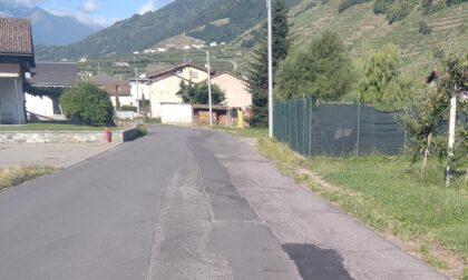 Villa di Tirano: strade colabrodo e cittadini esasperati