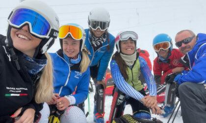Secondo allenamento sulla neve per i ragazzi del Fisi Alpi Centrali