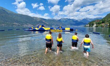 Inaugurato il primo acquapark sul Lago di Como
