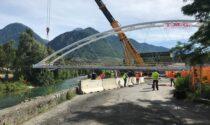 Varato il ponte sul Mallero