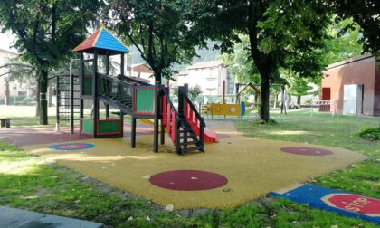 Il parco giochi di piazza Unità d'Italia è diventato inclusivo