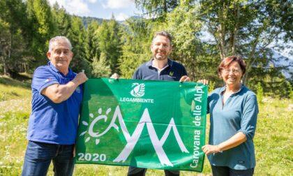 Legambiente assegna la Bandiera Verde al Parco delle Orobie Valtellinesi