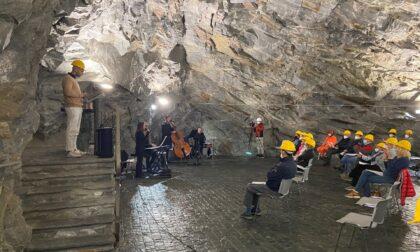 """""""Leggere Dante"""" nella Miniera di talco della Brusada"""