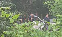 Cadavere di un uomo in una piazzola della Statale 36
