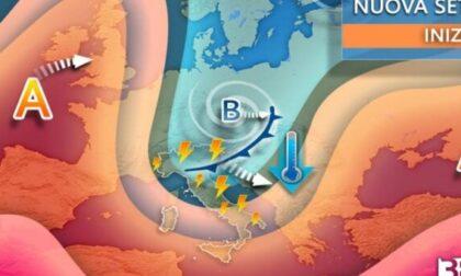 Cambia il meteo, previsto calo delle temperature