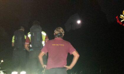 Escursionisti dispersi recuperati nel cuore della notte