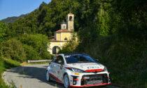 Prima vittoria per Gianesini nel GR Yaris Rally Cup