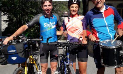 Due fidanzati in bici da Maastricht a Bormio