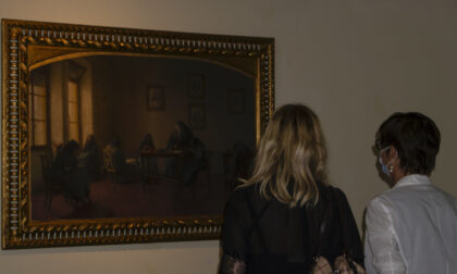 """Inaugurata la mostra """"Poetica degli affetti"""" al Mvsa"""