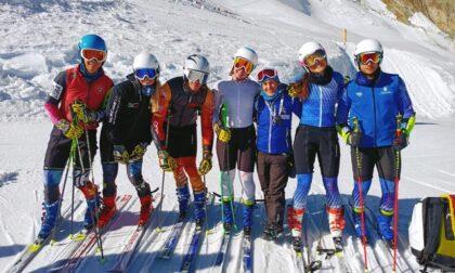 Gran lavoro in gigante a Sass Fee per le squadre di sci alpino
