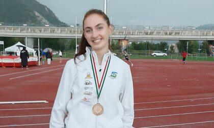 Campionati Regionali su Pista: Sofia Paganoni bronzo nel salto in alto