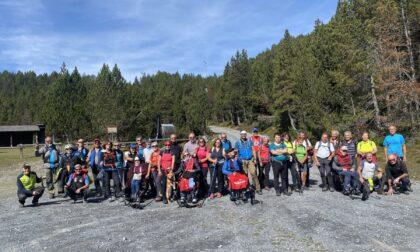 Escursione con e-joëlette a Cancano