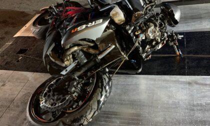 Pedone investito da moto a Dongo, due persone in ospedale