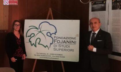 Il Prefetto Pasquariello in visita alla Fondazione Fojanini