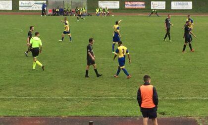 La nuova Sondrio Calcio sconfitta a Muggiò
