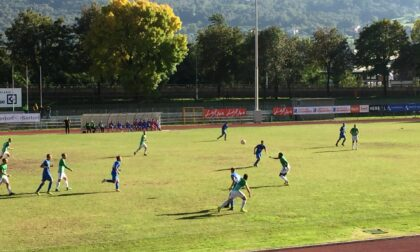 Nuova Sondrio Calcio sconfitta in casa dal Casati Arcore