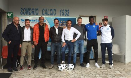 Nuova Sondrio Calcio, lascia l'allenatore: ingaggiato mister Salinetti