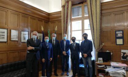 I responsabili delle Dighe della Edison S.p.A. hanno incontrato il Prefetto