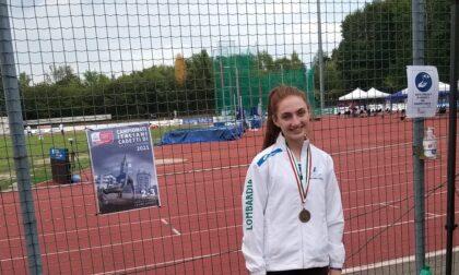 Campionato Italiano per Regioni Cadetti/e: Sofia Paganoni quinta nel salto in alto